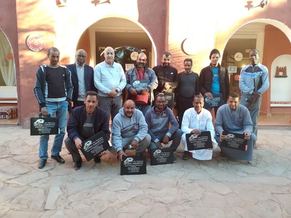l'installation d une représentation commerciale de notre entreprise Metgav industry a la wilaya d Adrar . en présence des entrepreneurs d Adrar et de Timimoune